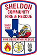 Sheldon Community Fire & Rescue Logo